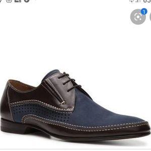 Mezlan chilliwack two tone oxford shoes